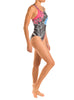 Blue Poppy Bladeback One Piece