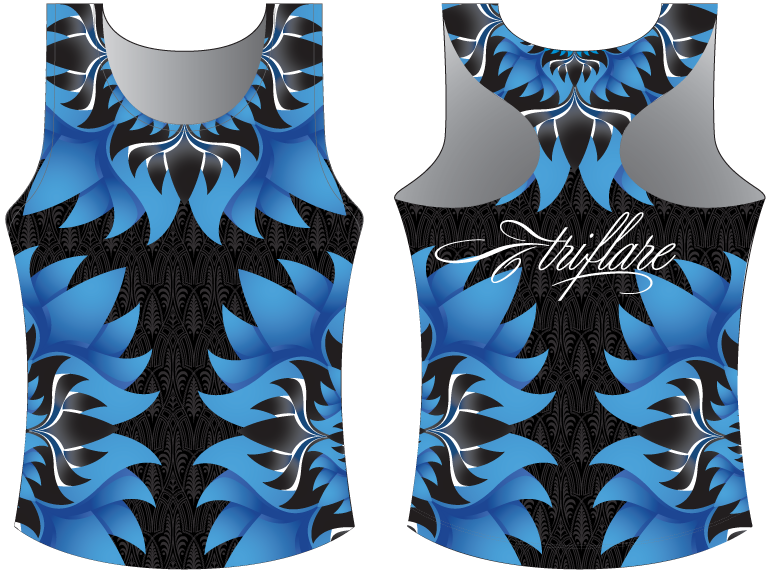 BLUE LOTUS TRI TOP