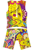 Yellow Paisley One-Piece TriSuit