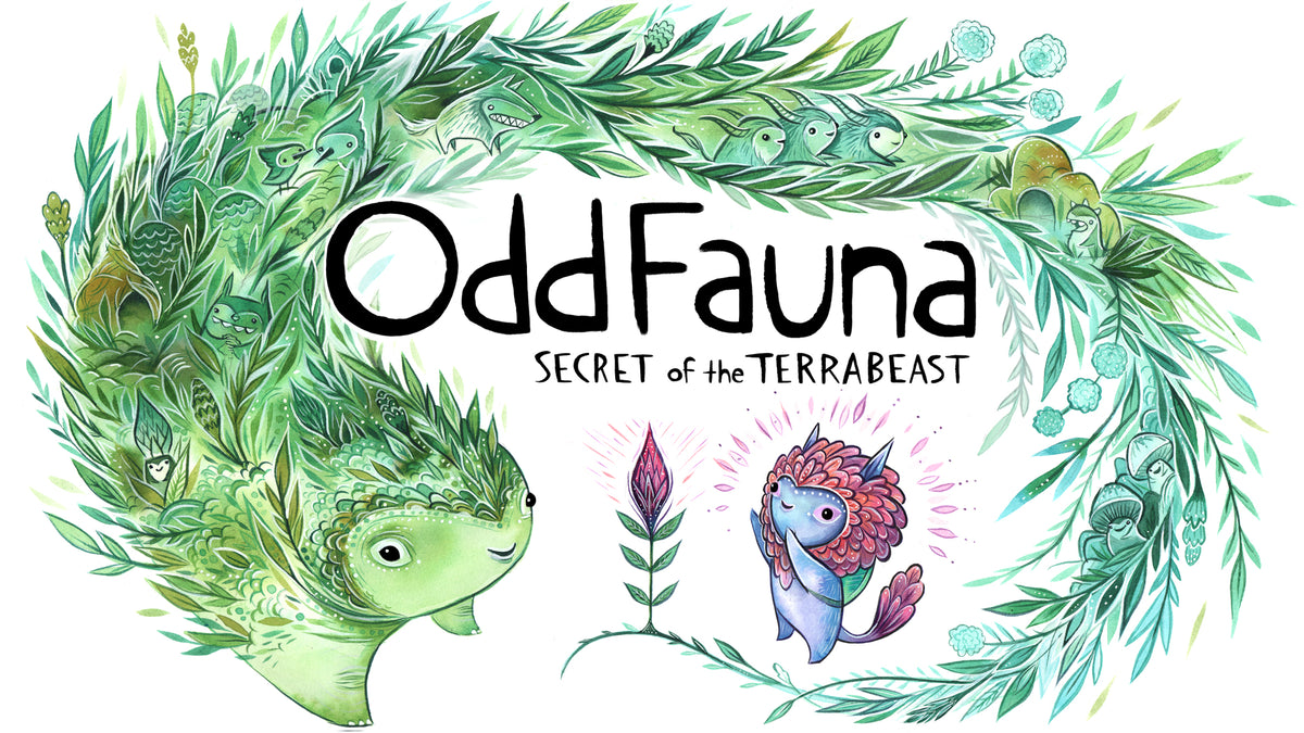oddfauna secret of the terrabeast indie video game