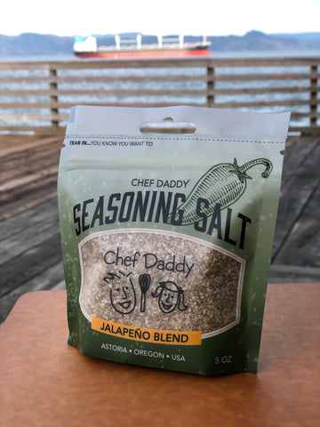 Chef Daddy Jalapeno Blend Seasoning Salt (5 Ounce)