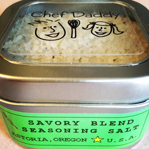 Chef Daddy savory blend sea salt