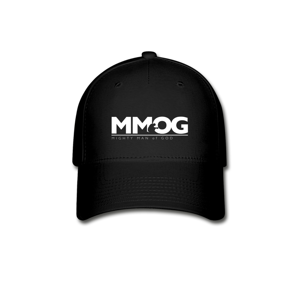 MMOG Men's Baseball Cap - black