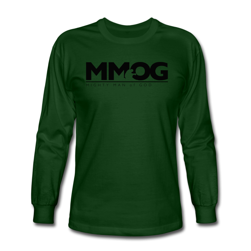 MMOG Men's Long Sleeve T-Shirt - forest green