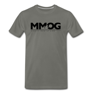 MMOG Men's T-Shirt - asphalt gray