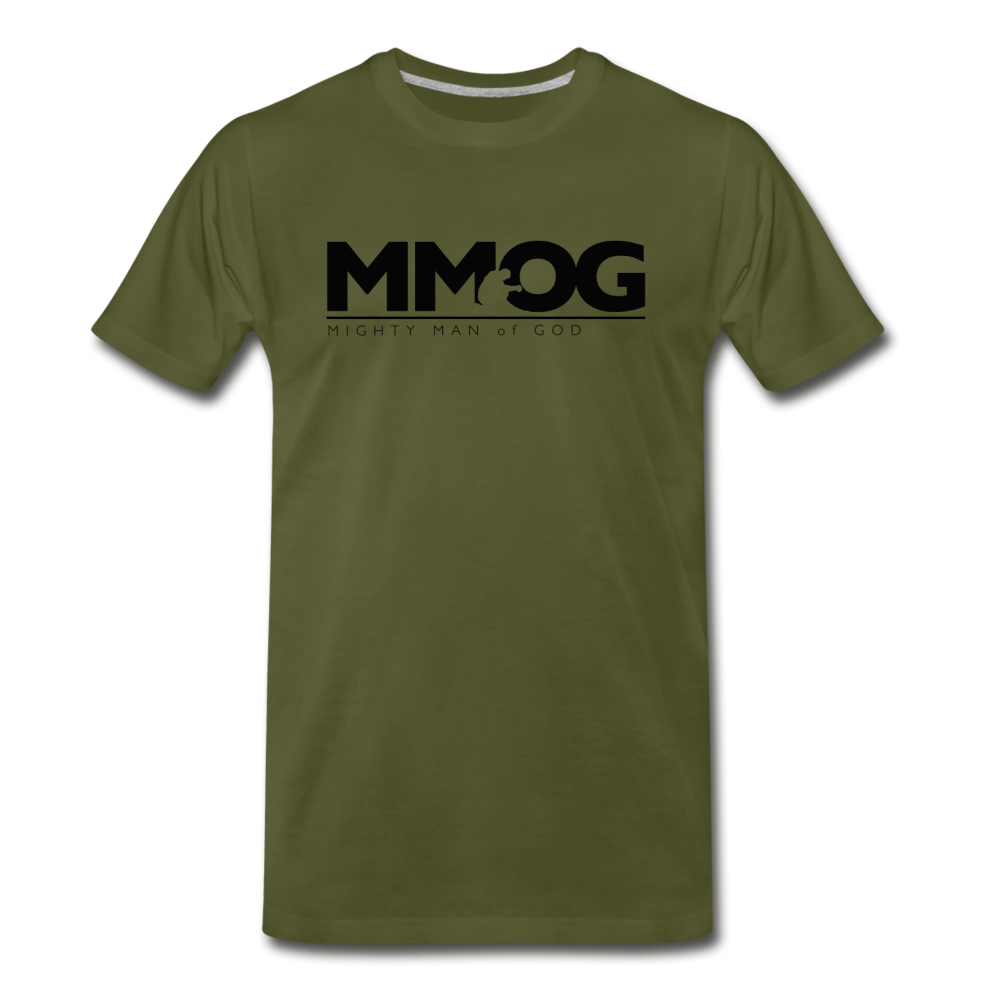 MMOG Men's T-Shirt - olive green