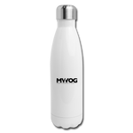 MWOG Insulated Stainless Steel Water Bottle - white