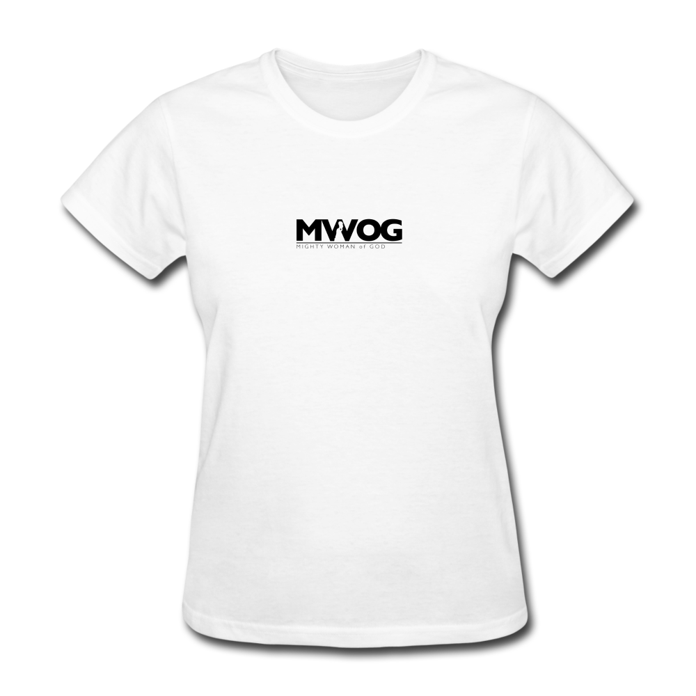 MWOG Women's T-Shirt - white