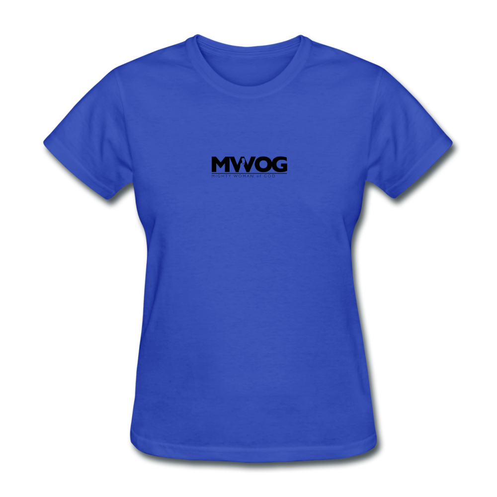 MWOG Women's T-Shirt - royal blue