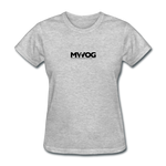 MWOG Women's T-Shirt - heather gray