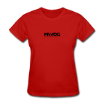 MWOG Women's T-Shirt - red