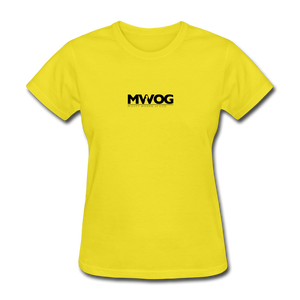 MWOG Women's T-Shirt - yellow