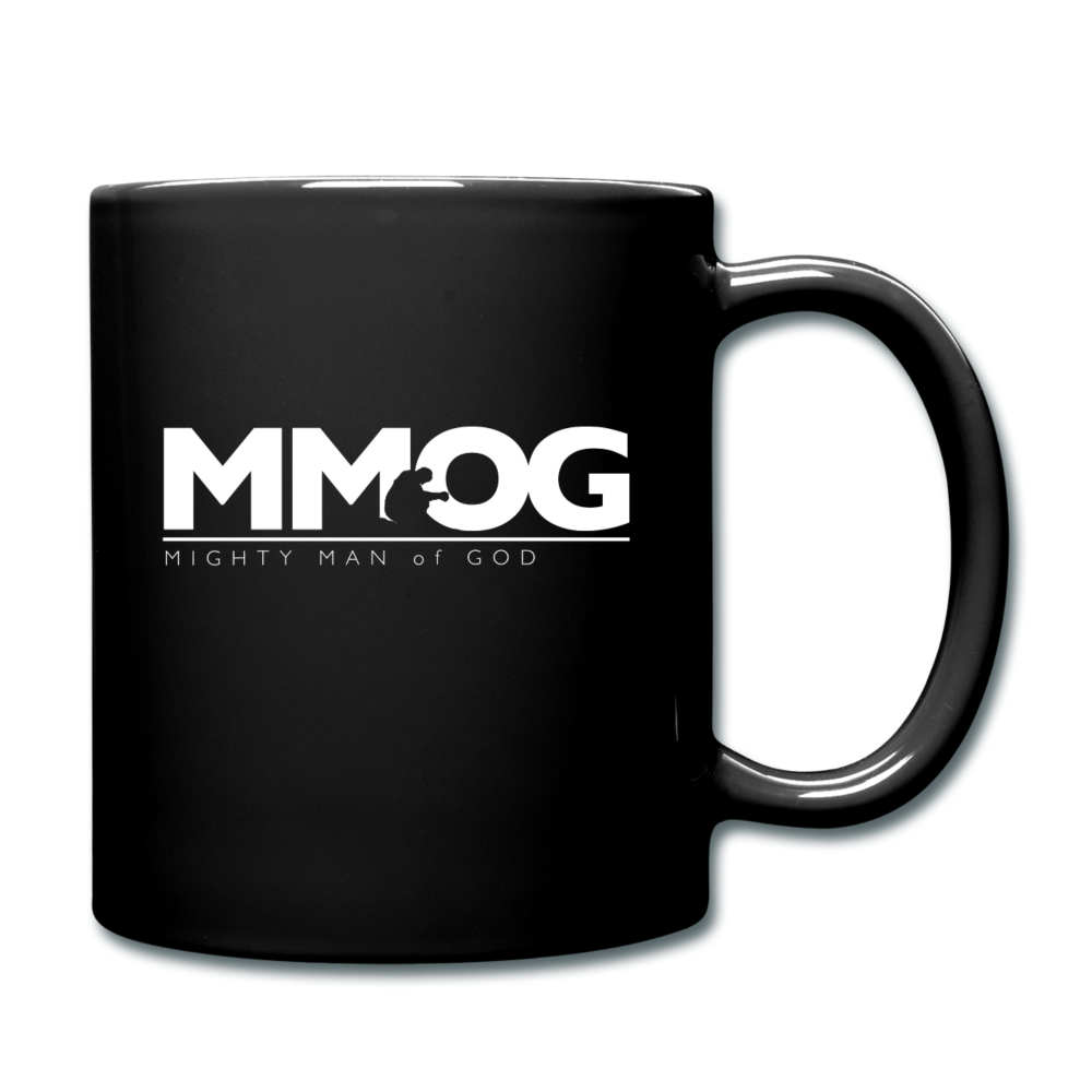 MMOG Coffee Mug (White Logo) - black