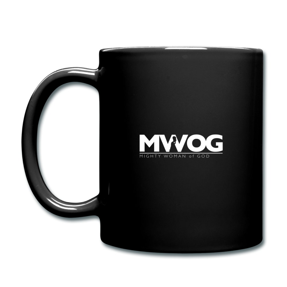 MWOG Coffee Mug (White Logo) - black