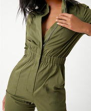 Load image into Gallery viewer, Army Green Jumpsuit