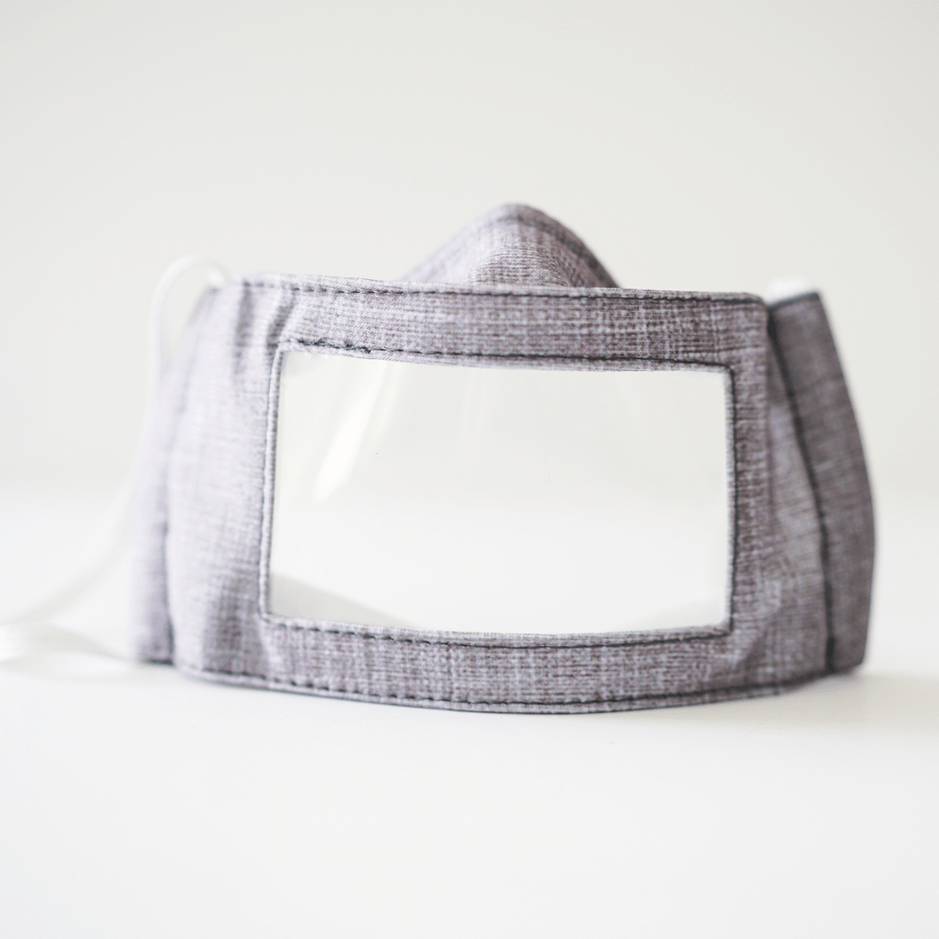 Linen Graphic Mask