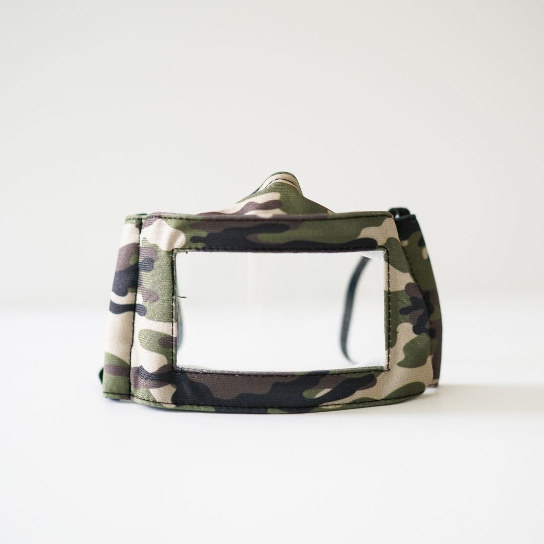 FASHION GRAPHIC MY ACCESS KIDS MASK - CAMO