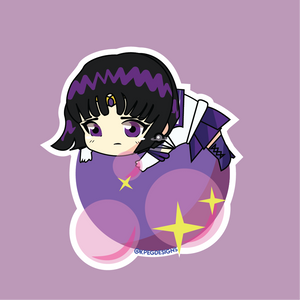 Sailor Saturn Bubble Sticker