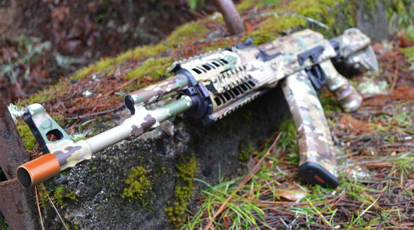 GunSkins DIY Camouflage Vinyl Wraps are Perfect for Airsoft