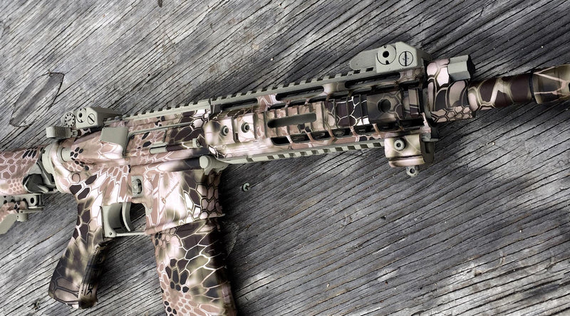 Product Feature: AR-15 Rifle & M4 Carbine Camouflage Kit
