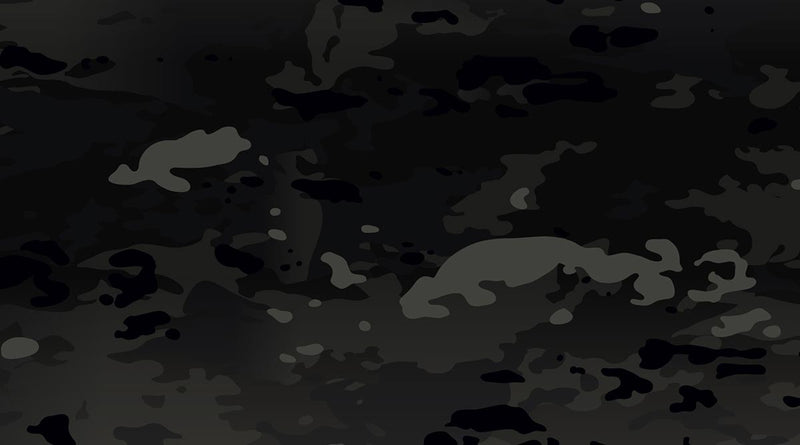 Go Dark with Military OCP Black Tactical Camouflage Pattern