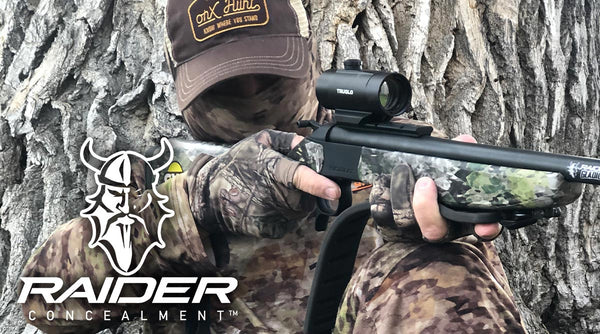 Accept the Challenge Outdoors with Raider Concealment