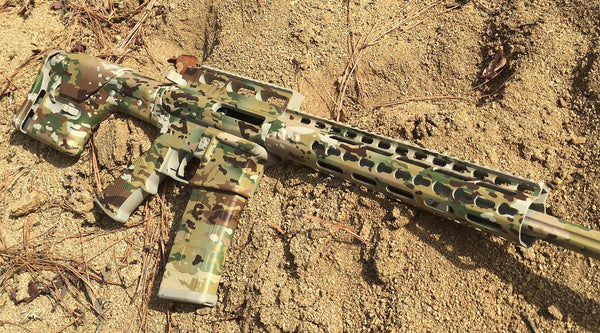 Complete Camo Job for Your Rifle with DIY Spray-Paint and GunSkins