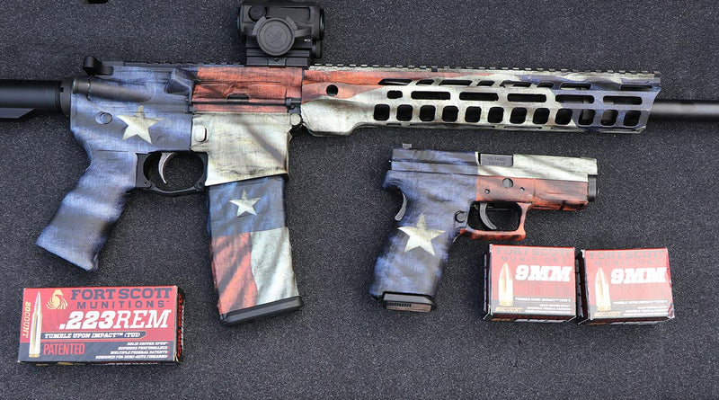 Texas Flag GunSkins Available For Fans of the Lone Star State