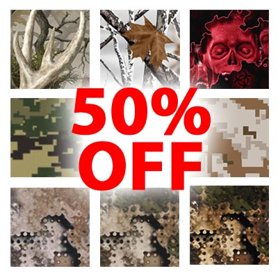 Camo Patterns 50% Off