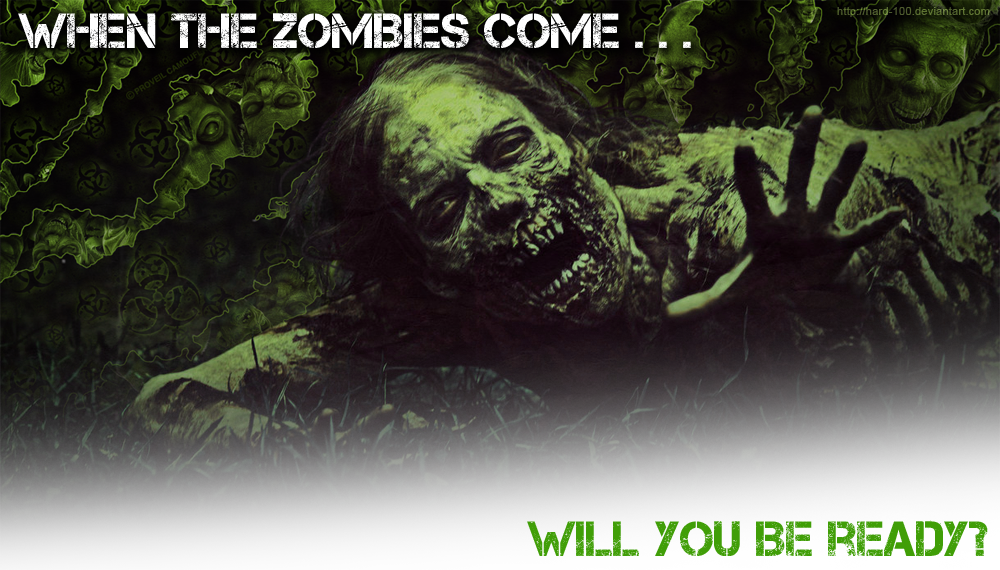 Will you be ready for the zombie apocalypse?