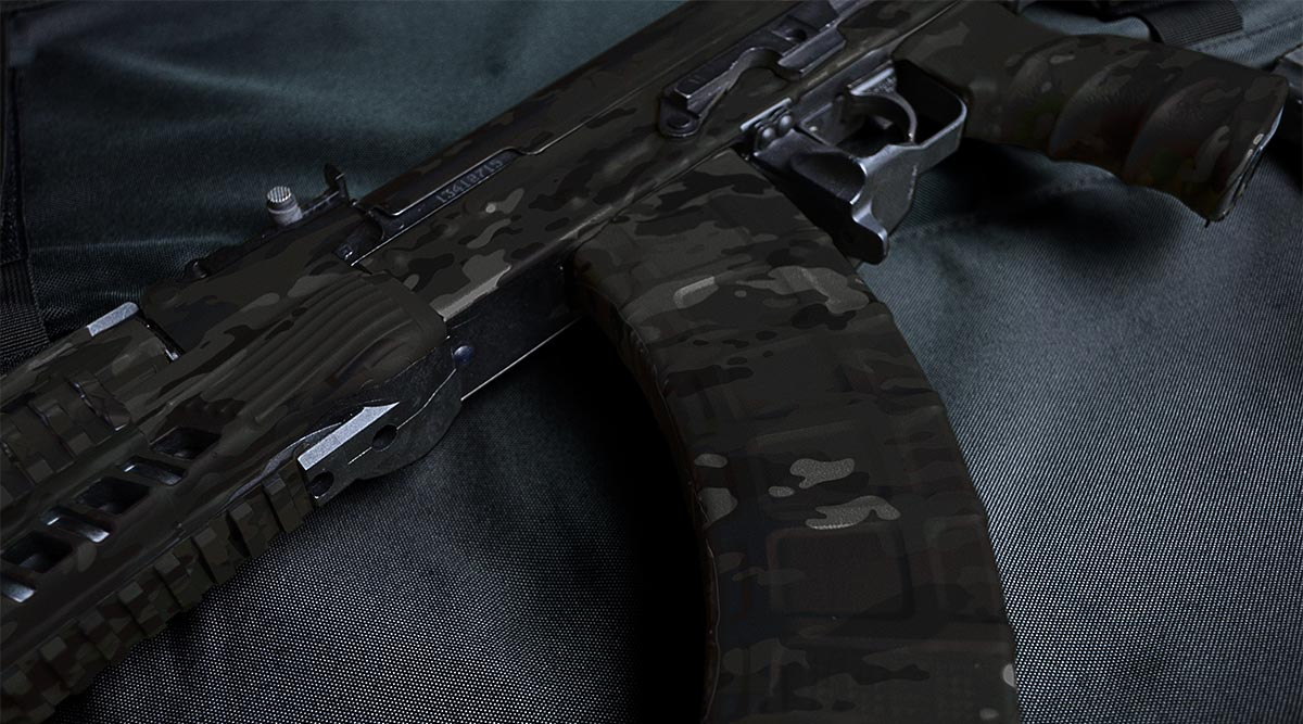AK-47 Rifle Skin (Military OCP Black)