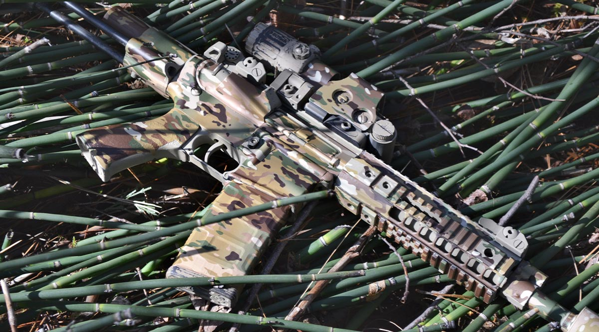 AR-15 Rifle Skin (Military OCP)