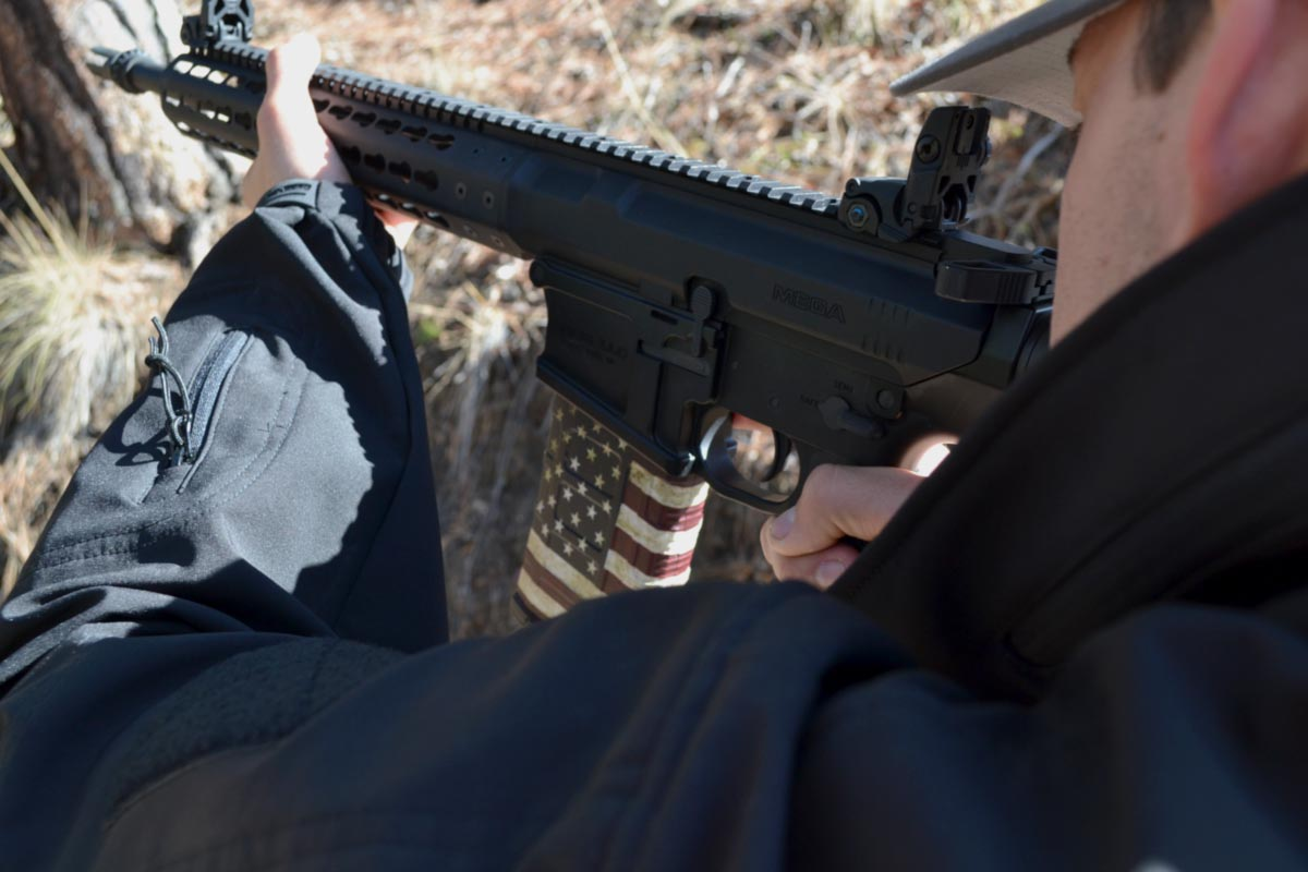 Safe Shooting AR-15 Rifle