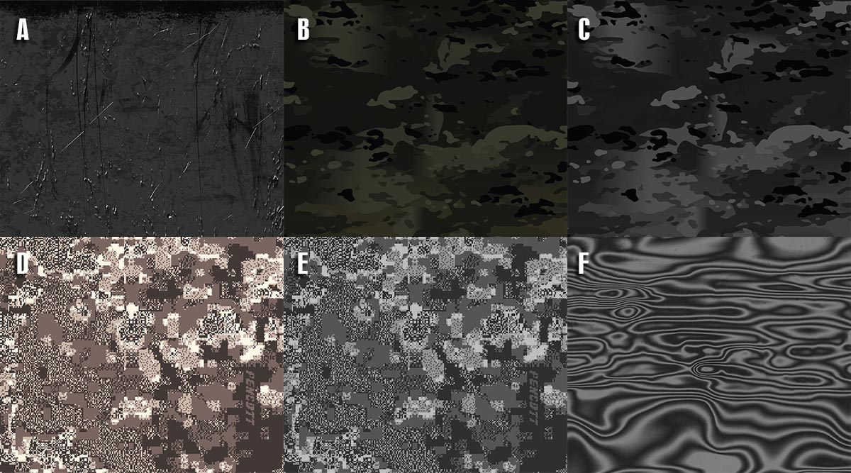 Dark Camo Options