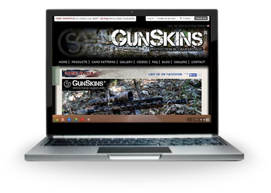 GunSkins Desktop Website