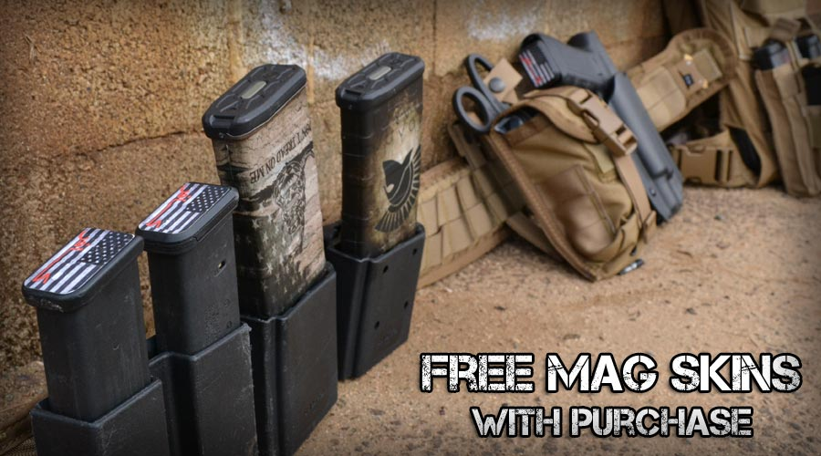 Free Mag Skins with Purchase