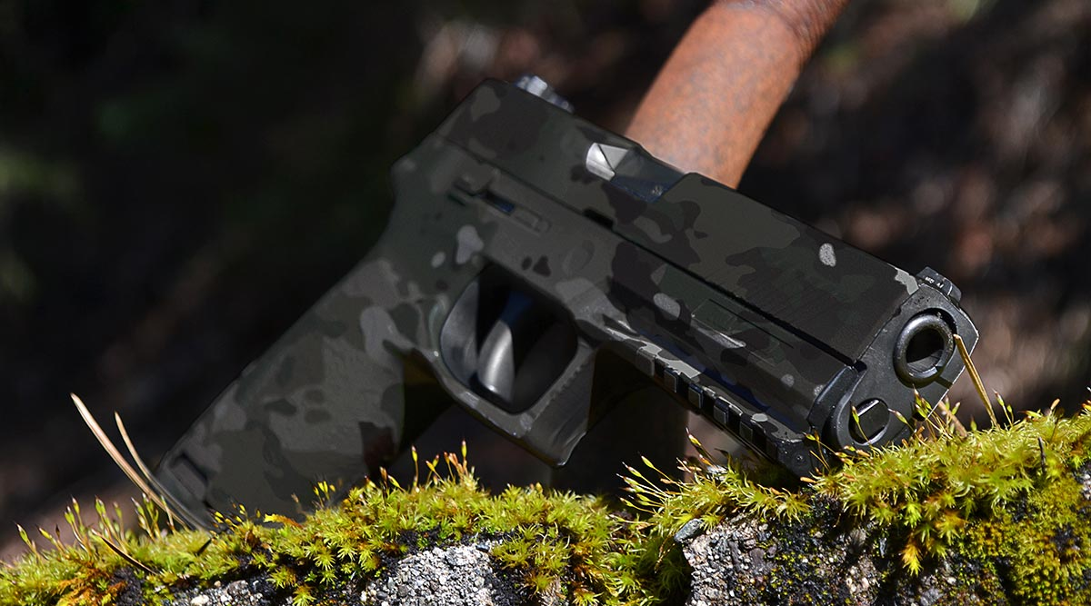 Pistol Skin (Military OCP Black)