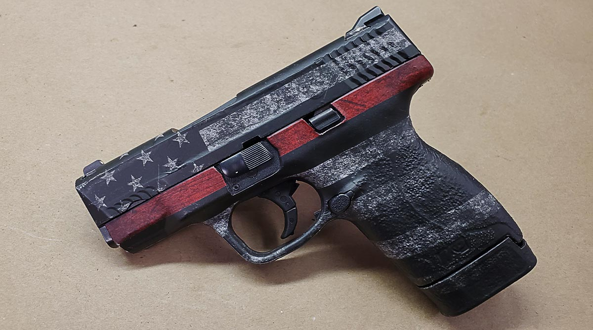 Pistol Skin (Thin Red Line)
