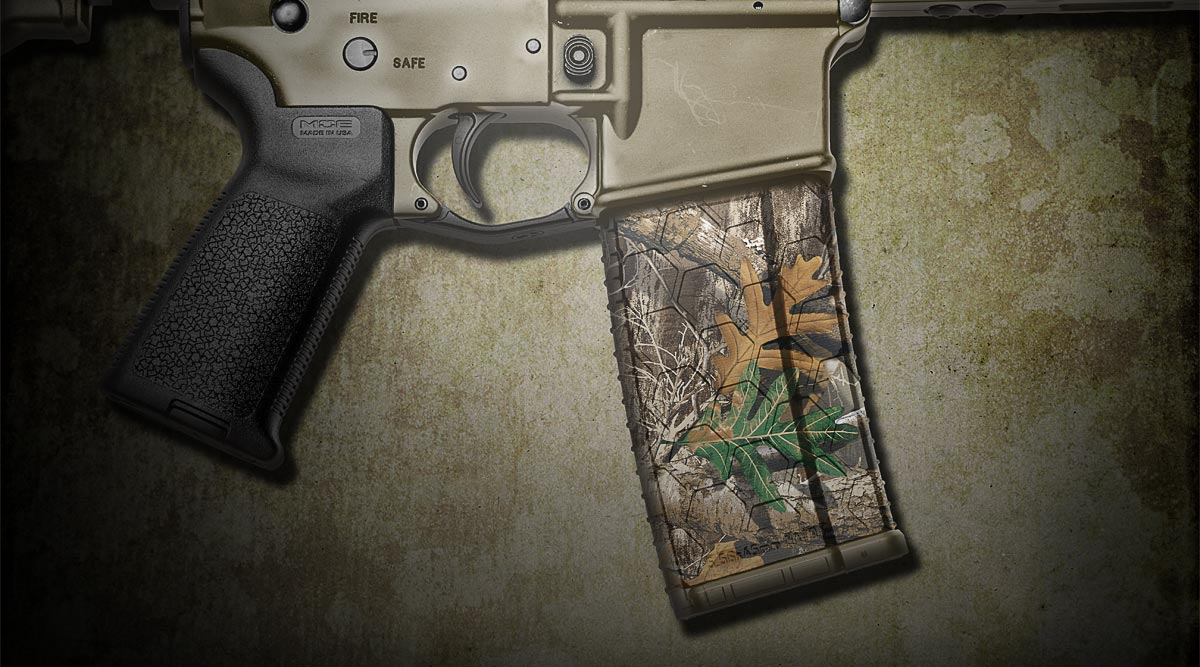 AR-15 Mag Skin (Realtree Edge)