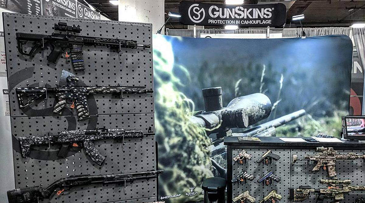 GunSkins Booth at Shot Show
