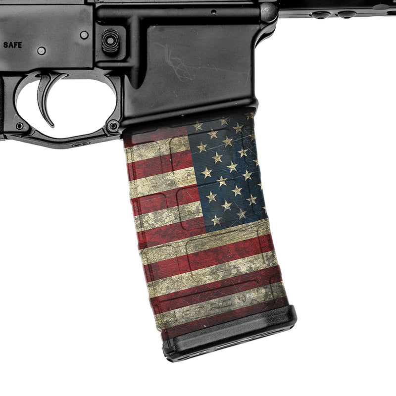 AR-15 Mag Skins Flags - 3 Pack