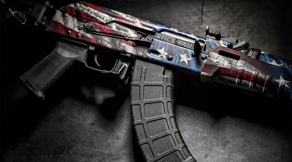 Gunskins Ak 47 Rifle Skin Vinyl Camo Wrap