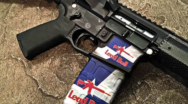 Gunskins Magwell Skin Specialty Lower Reciever Decal
