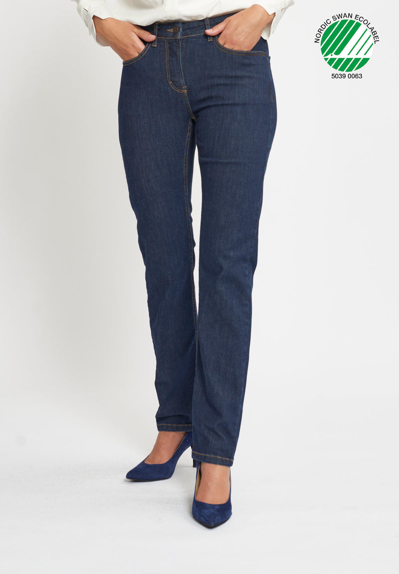 Charlotte Regular ML - Dark Blue Denim