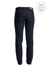 Dolly Regular Bukser - Dark Blue Denim