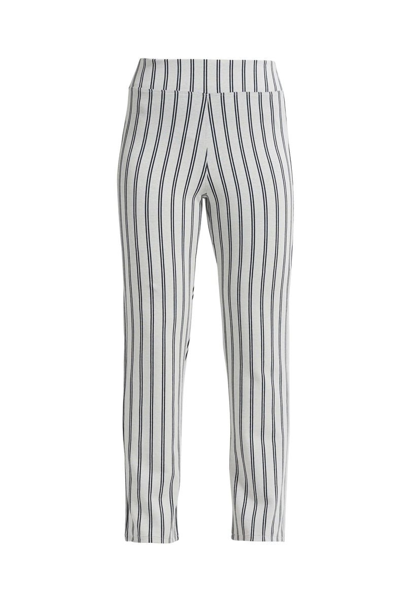Sarandon Classic bukser - Off White Navy Stripe