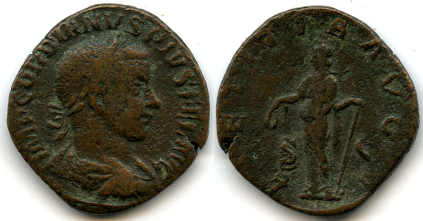 AE Sestertius of Gordian III (138-244 AD), Rome Mint, Roman Empire