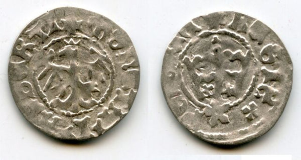 High quality! Scarce silver 1/2 grosso of John Albert (Jan Olbracht) (1492-1501), Poland