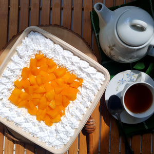 Mangoes & Cream Cake