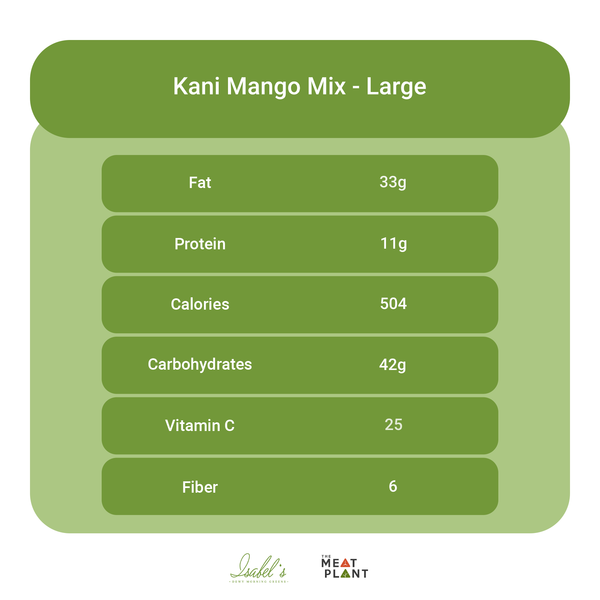Kani Mango Mix - Meal Plan